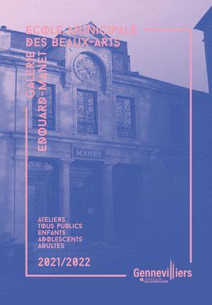 ECOLE MUNICIPALE DES BEAUX-ARTS / GALERIE EDOUARD-MANET 2021-2022