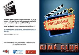 Programme ciné club