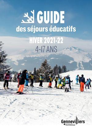 Séjours éducatifs 4-17 ans - Hiver 2021